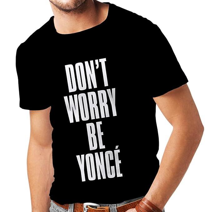 Amazon.com: lepni.me Men\'s T-Shirt Don\'t Worry Be Yourself ...