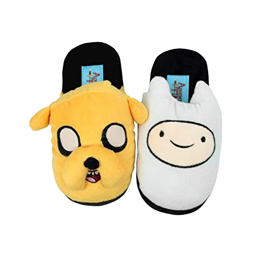 Adventure Time Official Childrens/Kids Finn and Jake Slippers (11-12 Child US