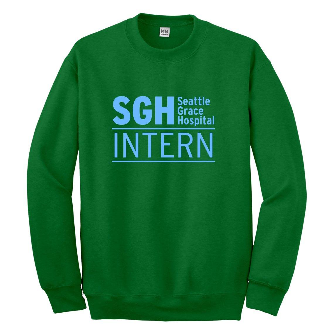Indica Plateau Intern Seattle Grace Hospital Sweatshirt 3312-C