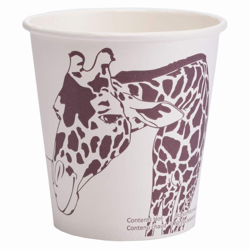 Minima 10 oz 1000 Count Compostable Hot Cups – 100% BPI-CERTIFIED Biodegradabl& Compostable Certified by Minima