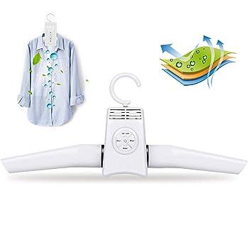 Love Life Perchero de plástico portátil, secador Plegable Plegable, secador de Cabello eléctrico de