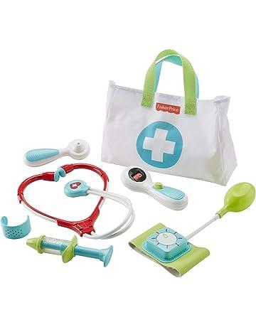 Fisher-Price Maletín pequeño doctor, juego de rol niño +3 años (Mattel