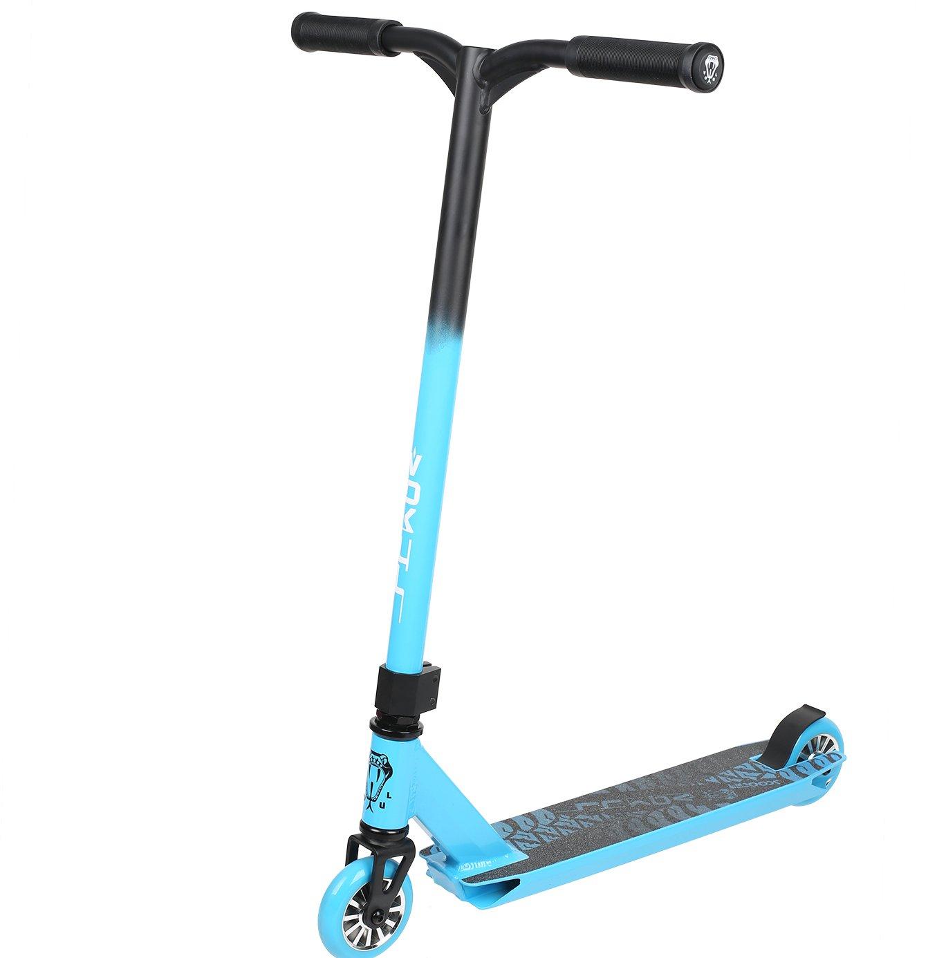 VOKUL S1 Pro Stunt Scooter Complete - Best Entry Level Freestyle Tricks Pro Scooter for Age 7 Up Kids,Boys,Girls - CrMo4130 Chromoly Bar,Reinforced Deck,Nice Color Design