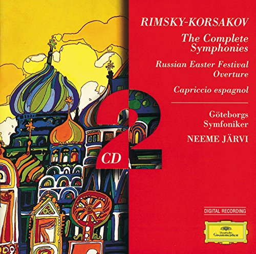 Rimsky-Korsakov: The Complete Symphonies; Russian Easter; Capriccio es (Easter Cd)