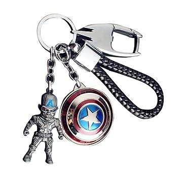 JLZK Avengers 4 Endgame superhéroe Llavero con Ironman ...