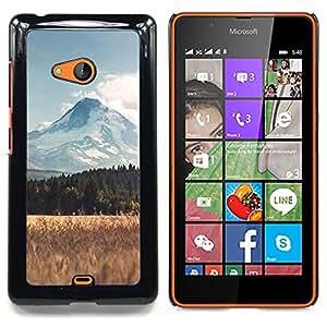 SKCASE Center / Funda Carcasa protectora - Paisaje Montaña Campo;;;;;;;; - Nokia Lumia 540