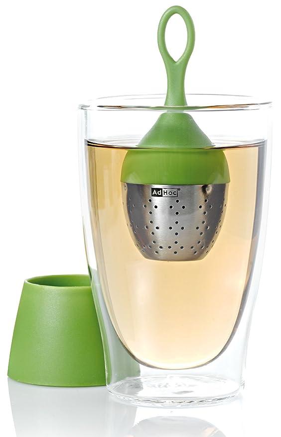 1 opinioni per AdHoc Floatea- Infusore fluttuante a forma di uovo, per tè, colore: Verde