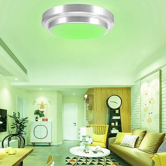 Dormitorio Ba/ño Garaje S/ótano Pasillo Lighti 60W Smart Wifi L/ámpara de techo Luz de pan Luz LED de Wifi para comedor Habitaci/ón infantil Sala de estar