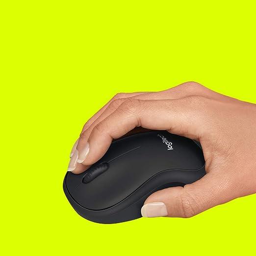 Logitech B220 Silent Kabellose Maus 2 4 Ghz Verbindung Computer Zubehör