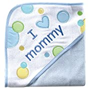 Luvable Friends I Love Family Hooded Towel