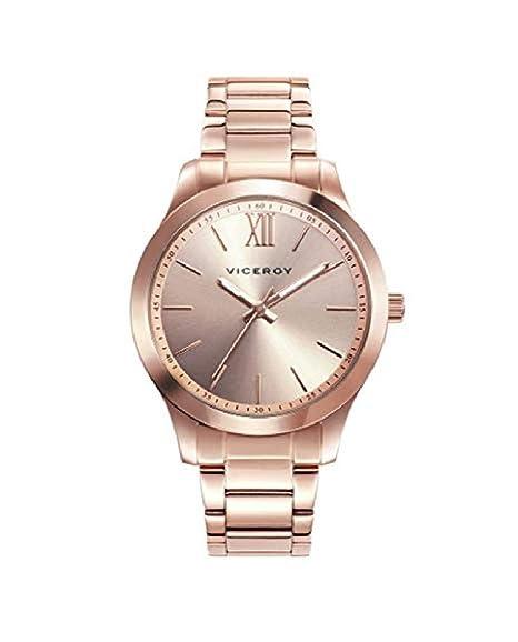 Viceroy 401068-93 - Reloj para Mujer Acero IP Oro Rosa: Amazon.es: Relojes
