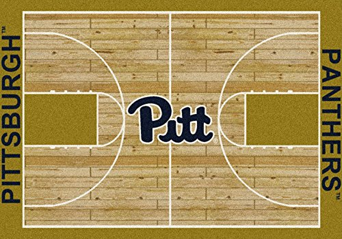 (NCAA Home Court Rug - Pittsburgh Panthers, 7'8