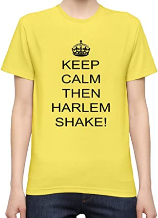 Keep Calm /& Do The Harlem Shake Funny Mens T-Shirt  Size S-XXL