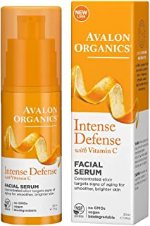 product image for Avalon Organics Intense Defense with Vitamin C Facial Serum 1 oz (Pack of 5)