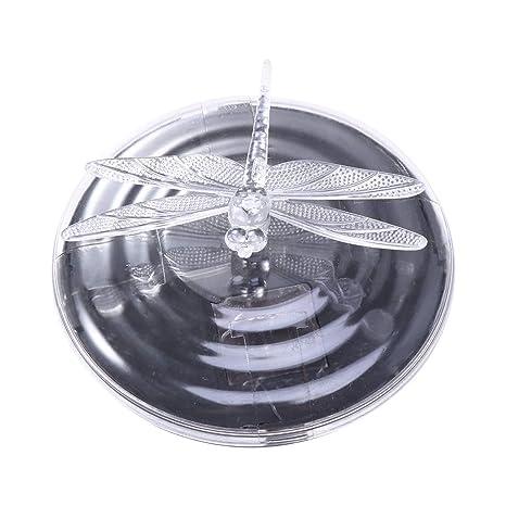 Mobestech Luz flotante solar de la charca Luz impermeable de la lámpara de la piscina de