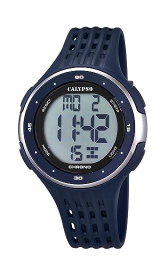 Calypso watches K5664/2 - Reloj de Pulsera Hombre, plástico, Color Negro: Amazon.es: Relojes