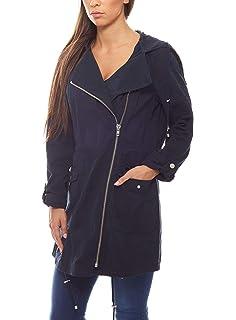 Aniston Jacke mit Übergangsjacke Coole hochschließendem mwv80nON