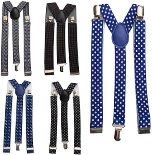 Lote de 20 Tirantes para Pantalones Hombres o Mujeres - Tirantes Originales Diseño Moderno, para regalos de Bodas, Bautizos y Comuniones, detalles y recuerdos originales Hombres: Amazon.es: Hogar