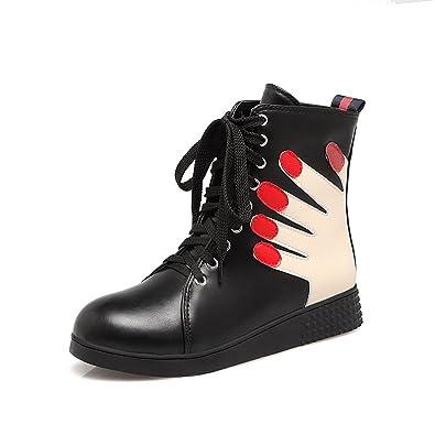 Womens High-Top Walking-Shoes No-Heel Urethane Walking Shoes SXC02514