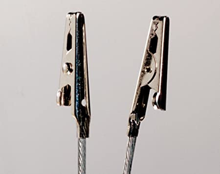 SALE - 2 Crocodile Clips on Wire for Crafts | Metal Wire & Craft ...