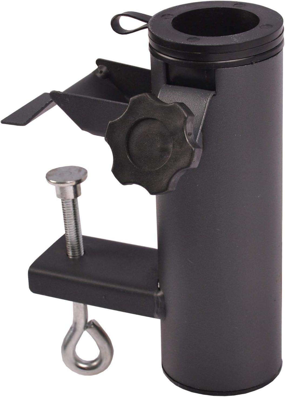 morsetto da balcone per ombrelloni in acciaio zincato greemotion Supporto ombrellone