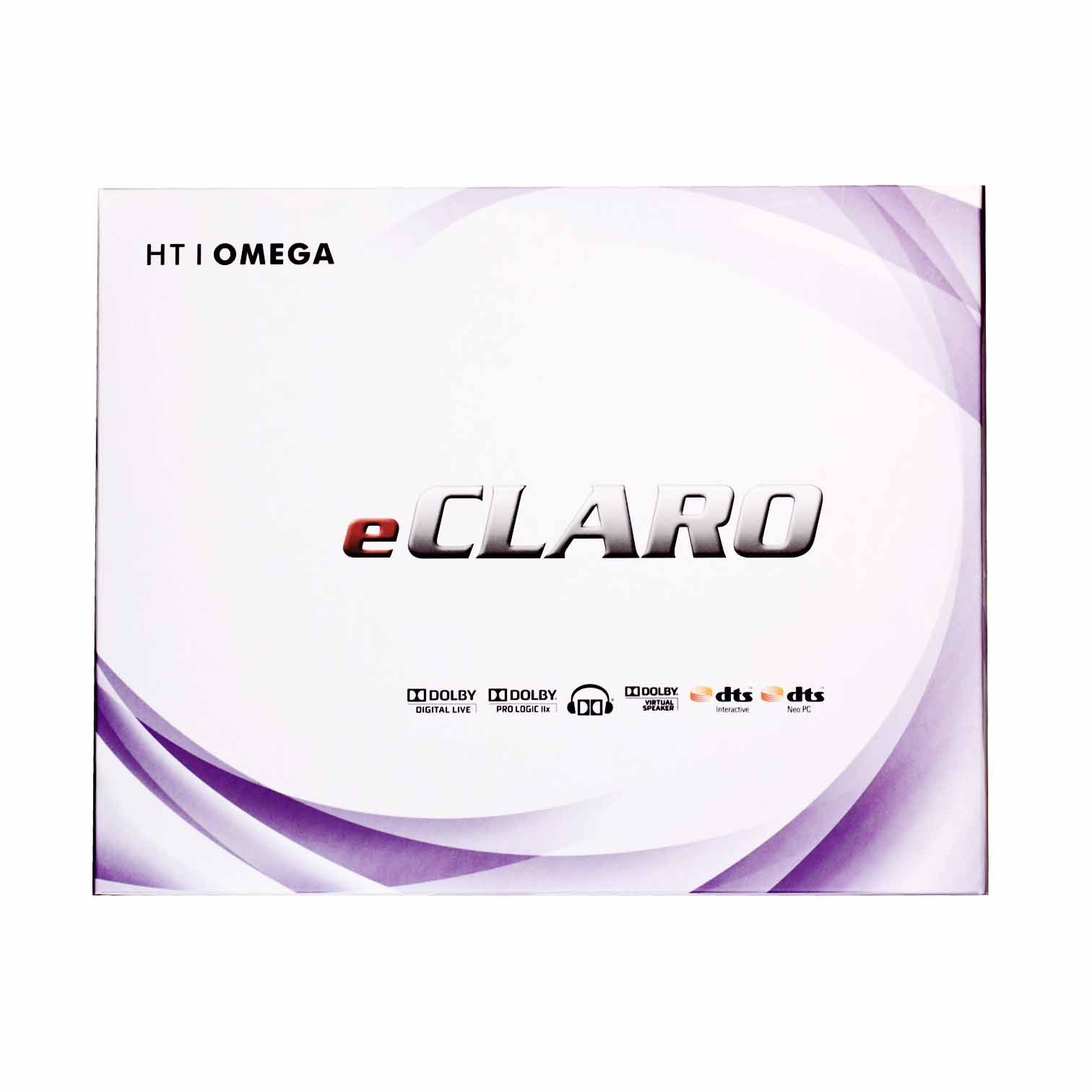 HT OMEGA eCLARO 7.1 Channel PCI Express Sound Card by HT OMEGA