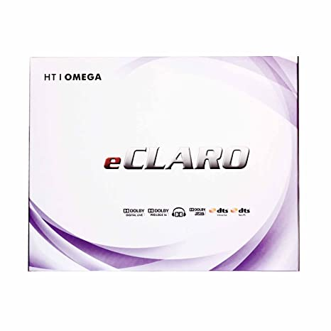 HT OMEGA eCLARO 7 1 Channel PCI Express Sound Card