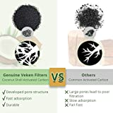 Veken 8 Pack Replacement Filters for Automatic