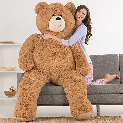 Vermont Jumbo Love Bear, 6 Feet Tall, Brown