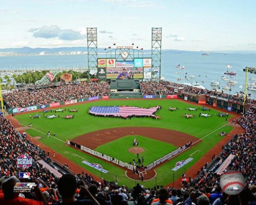 (AT&T Park San Francisco Giants 2012 World Series MLB Stadium Photo (Size: 8
