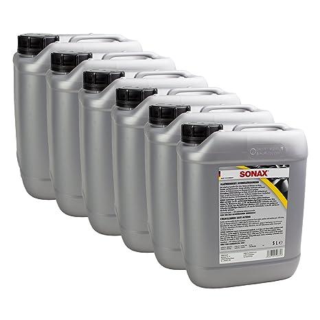 SONAX 6 x 05425000 kaltrein Papelera schnelltrennend para Aceite y Grasa 5L