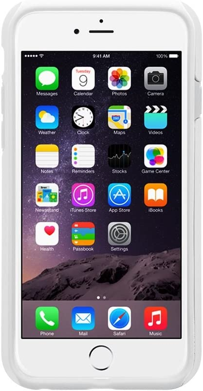 Melkco - Kubalt Double Layer Pro Case for Apple iPhone 6 (4.7 Inch) - White/White (APIP6FPSKU1WEWE)