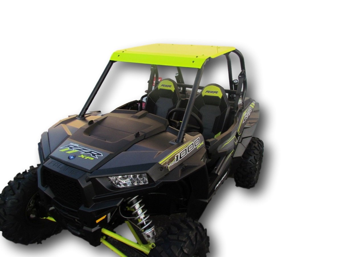 2015-2019 Polaris RZR 900/900S/1000S/XP1000/Turbo - Lime Squeeze Aluminum Roof UTVGIANT
