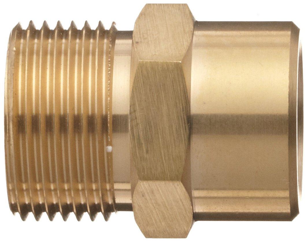 Dixon AL456 Brass Fitting Fixed Quick Coupling Plug 3//8 NPT Female x 22mm x 1.5mm Male 3//8 NPT Female x 22mm x 1.5mm Male Dixon Valve /& Coupling