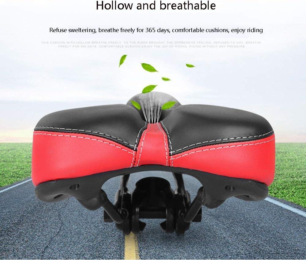 pour Bicyclette//VTT//V/élo de Route Confortable Hommes Femmes si/ège de v/élo Coussin Creux et Ergonomique Remplacement de Selle de v/élo Selle de v/élo