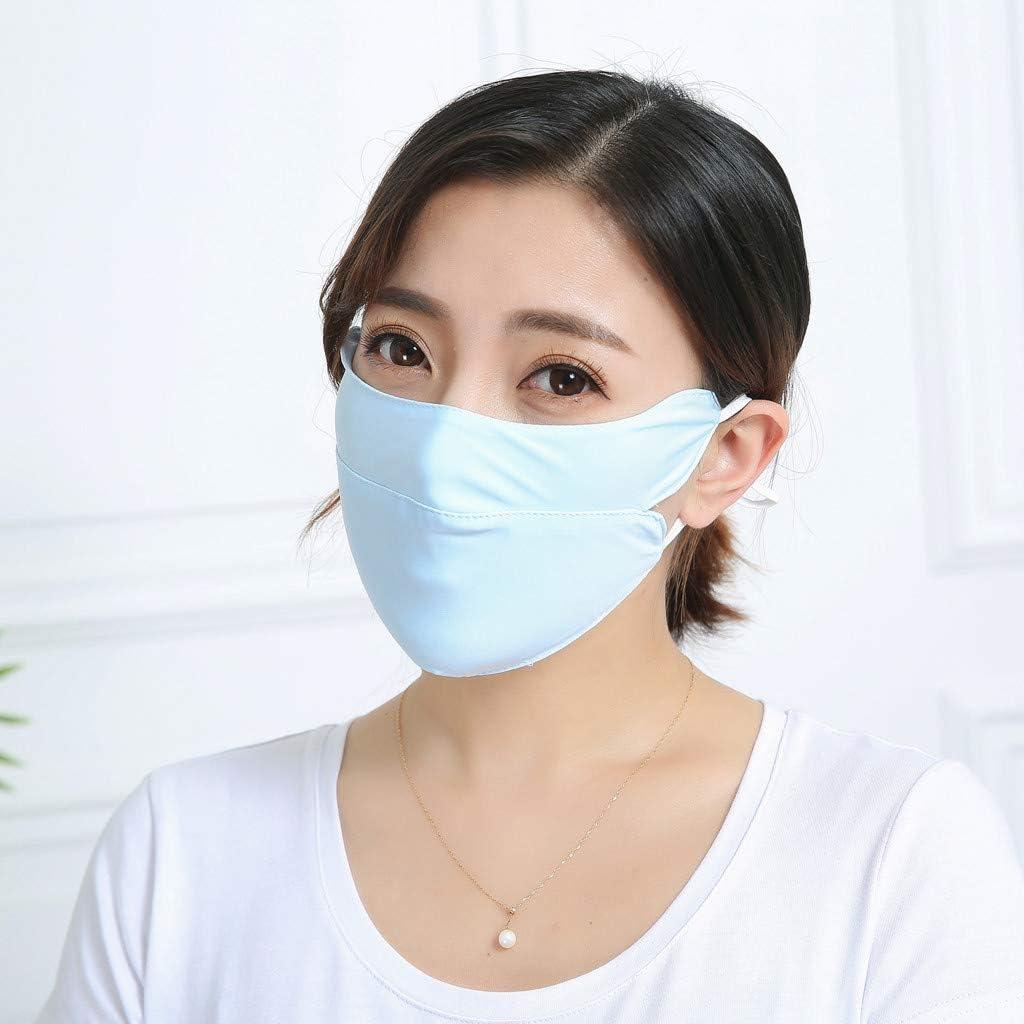 M/änner und Frauen Erwachsene Waschbar Anti Staub Anti-Ultraviolett Meryl Solid