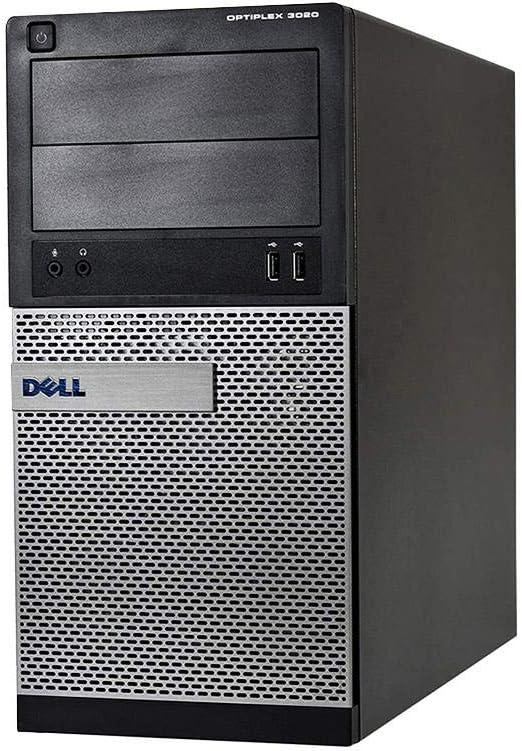 Dell Optiplex 3020 Tower Gaming Desktop Computer - Core i7 4770 3.4 GHz, 8GB RAM, 1TB SSD, NVIDIA GT 1030 2GB DDR5, HDMI, DVI, VGA, New Keyboard, Mouse, Wireless WiFi, Windows 10 Pro 64-bit(Renewed)
