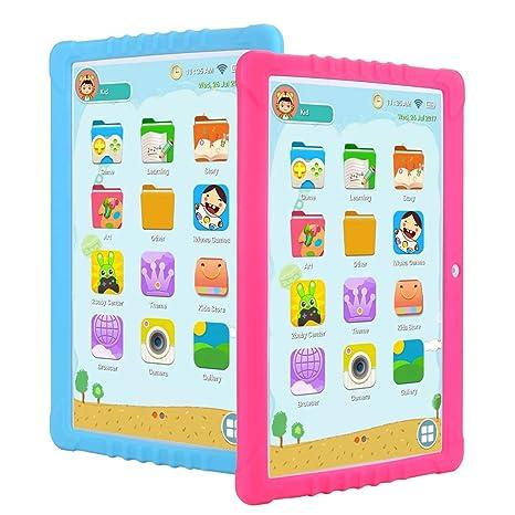 Tableta Para Niños,SANNUO 10.1 Pulgadas Tablet Infantil (Andorid ...