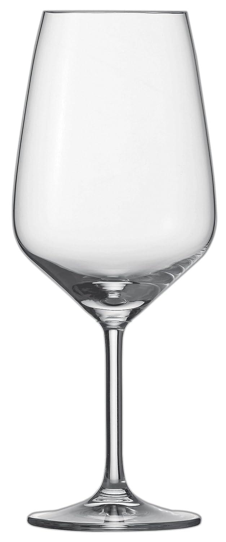 Schott Zwiesel 115672Bordeaux Taste 130Verre à vin rouge, verre cristal sans plomb, transparent, 9,5x 9,5x 23,7cm, lot de 6unités