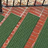 Weather Guard Mesh Stair Treads in Light Green (Set of 2)