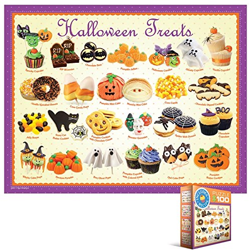 EuroGraphics Halloween Treats Mini Puzzle -