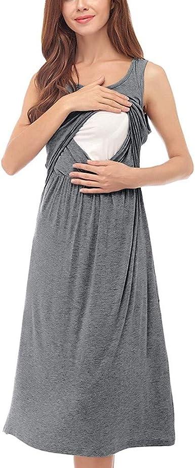 ♫ Tinte Liso para Vestido Entallado Mujer ♫ Xinxinyu Noche ...
