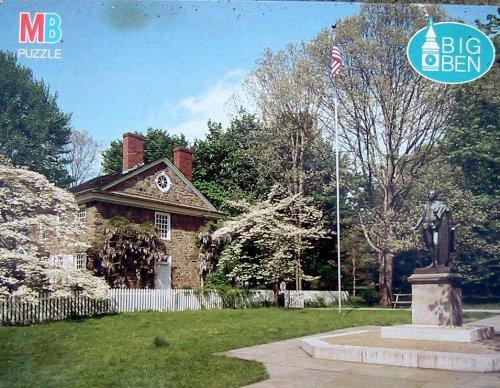 (Big Ben 1000pc. Puzzle-Washington's Headquarters Valley Forge, PA)