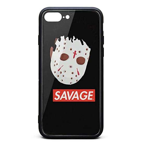 timeless design 058a8 c4c8a Amazon.com: iPhone 7 Plus/iPhone 8 Plus Case 21-Savage-Type-Beat ...