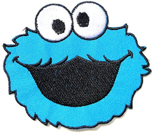 Elmo Sesame Street Monster Kid Baby Jacket T shirt create logo maker design Patch Embroidered Badge Cloth Sign Costume Gift