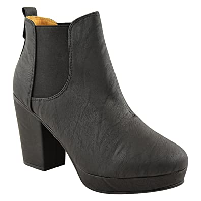 Slip On Block Heel Suede Ankle Boots buy cheap visit 1DKoaCYKTc
