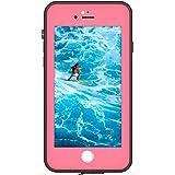 iPhone 7 / 8 Plus Waterproof Case, Fully Sealed Heavy Duty Shockproof Snowproof Dustproof Protective Underwater Waterproof Cover Case For iPhone 7 / 8 Plus 5.5 inch by Bolkin (Pink)