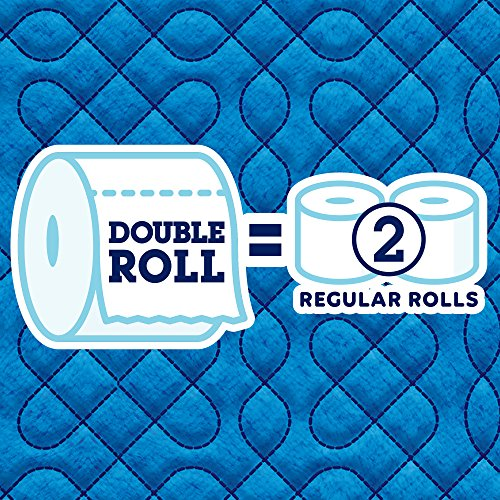 Quilted Northern Ultra Soft & Strong Toilet Paper, 12 Double Rolls, 164 2-Ply Sheets Per Roll