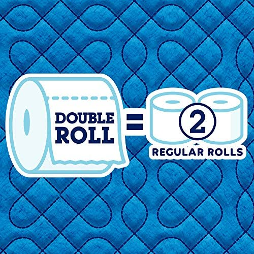 Quilted Northern Ultra Soft & Strong Toilet Paper, 48 Double Rolls, 48 = 96 Regular Rolls,12 Count (Pack of four)