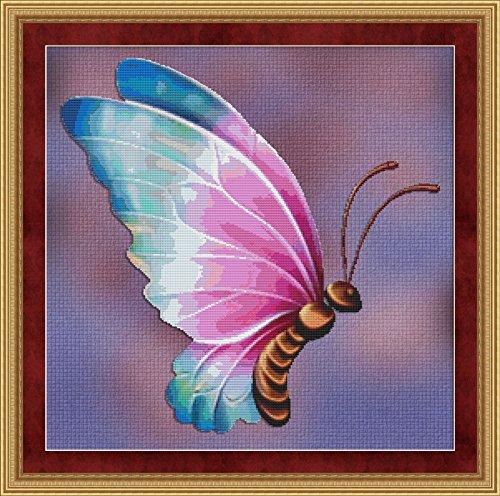 Chart Butterfly Pattern (Flutter #4 Butterfly Cross Stitch Pattern)